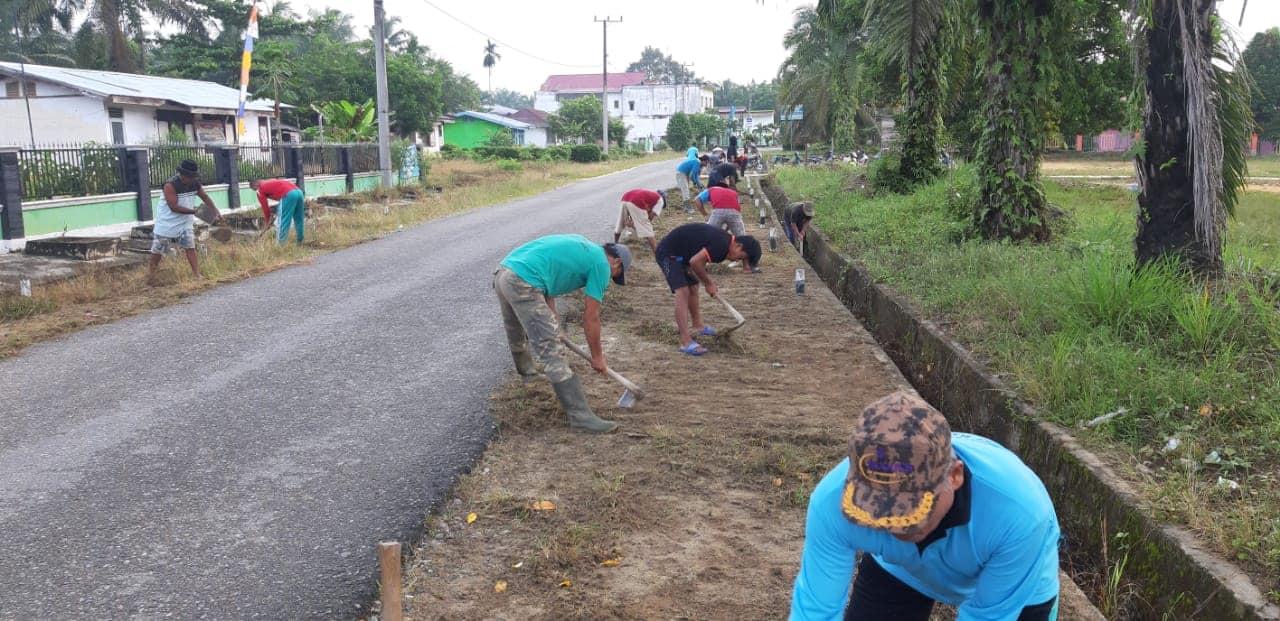 Kegiatan Rutin Desa Karya Harapan Mukti Dalam Rangka Menyambut Bulan Suci Ramadan